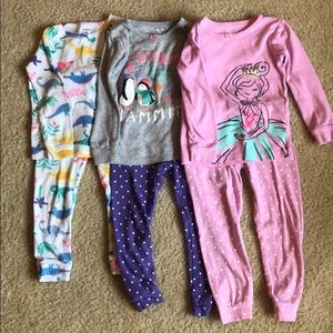 Carter's Pajama Sets: 3 sets for one price!